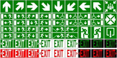 picto-evacuation